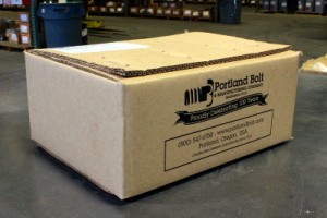 What a typical Portland Bolt shipment looks like when it leaves our facility.